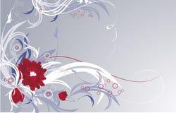 Bloemen achtergrond Royalty-vrije Stock Afbeeldingen