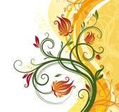 Bloemen achtergrond Stock Fotografie