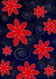 Bloemen, achtergrond. Stock Foto's