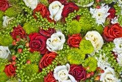 Bloemen achtergrond Stock Foto