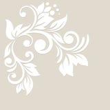 Bloemen achtergrond De kaart van het huwelijk of uitnodiging Stock Afbeelding