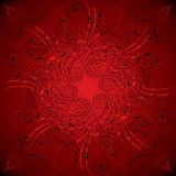 Bloemen achtergrond, elementen voor ontwerp, vector Royalty-vrije Stock Afbeelding