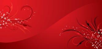Bloemen achtergrond, elementen voor ontwerp, vector royalty-vrije illustratie