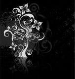 Bloemen Achtergrond Grunge Royalty-vrije Stock Foto's