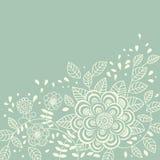 Bloemen achtergrond in lichte kleuren vector illustratie