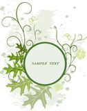 Bloemen achtergrond met frame royalty-vrije illustratie
