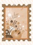 Bloemen achtergrond met frame vector Royalty-vrije Stock Fotografie
