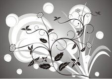 Bloemen achtergrond N1 stock illustratie