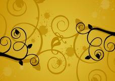 Bloemen achtergrond/ontwerp stock illustratie