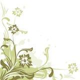 Bloemen achtergrond - vector Stock Fotografie