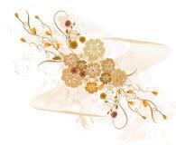 Bloemen Achtergrond - vector Royalty-vrije Stock Foto's