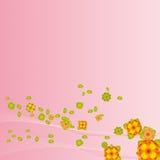 Bloemen Achtergrond (vector) Royalty-vrije Stock Foto's