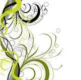 Bloemen achtergrond, vector Royalty-vrije Stock Foto's