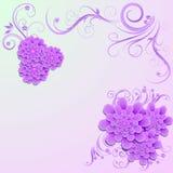 Bloemen achtergrond Vector illustratie Royalty-vrije Stock Afbeeldingen