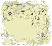 Bloemen achtergrond - vectorillustratie Stock Foto