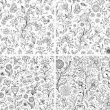 Bloemen achtergronden Royalty-vrije Stock Afbeelding