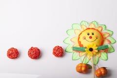 Bloemen als decoratiebehang Royalty-vrije Stock Foto's