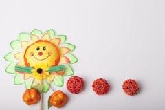 Bloemen als decoratiebehang Royalty-vrije Stock Afbeelding