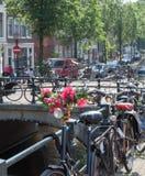 Bloemen in Amsterdam Royalty-vrije Stock Afbeeldingen