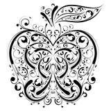 Bloemen appel royalty-vrije illustratie