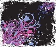 Bloemen backgrund Stock Foto