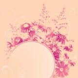 Bloemen banner Stock Foto's
