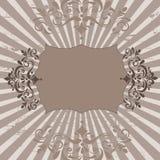 Bloemen banner Royalty-vrije Stock Foto