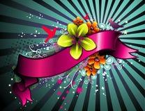 Bloemen bannervector