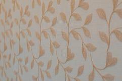 Bloemen Behang Stock Foto