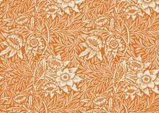 Bloemen behang Royalty-vrije Stock Afbeelding
