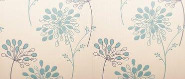 Bloemen behang Royalty-vrije Stock Fotografie