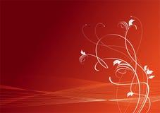 Bloemen bevallige takken Royalty-vrije Stock Afbeelding