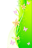Bloemen BG royalty-vrije illustratie