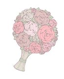 Bloemen boeket Stock Afbeelding