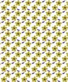 Bloemen Bruin Koekjes Naadloos Patroon voor Stoffen vector illustratie