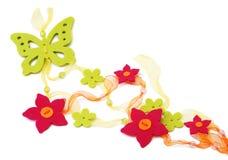Bloemen decoratie Stock Afbeeldingen