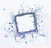 Bloemen Decoratief frame Stock Foto