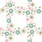 Bloemen decoratief naadloos patroon Royalty-vrije Stock Foto's