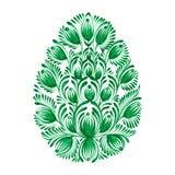 Bloemen decoratief ornament Royalty-vrije Stock Afbeelding
