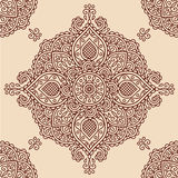 Bloemen decoratief patroon Royalty-vrije Stock Afbeelding