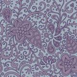 Bloemen-decoratief-patroon vector illustratie