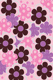 Bloemen decoratieve achtergrond Royalty-vrije Stock Foto