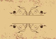 Bloemen Decoratieve Grens Royalty-vrije Stock Afbeelding