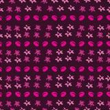Bloemen ditsy-Bloemen in Bloei, Naadloos Herhalingspatroon stock illustratie