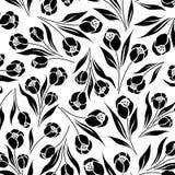Bloemen ditsy tulp royalty-vrije illustratie