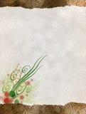 Bloemen Document Royalty-vrije Illustratie