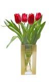 Bloemen in een glas Stock Fotografie