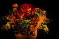Bloemen in een pot Stock Foto's