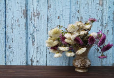Bloemen in een vaas Royalty-vrije Stock Fotografie