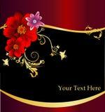 Bloemen elegante vector composit Stock Foto
